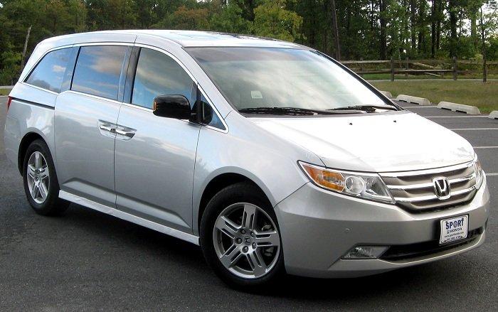 Honda Odyssey mẫu Mini van phổ biến ở nước ta