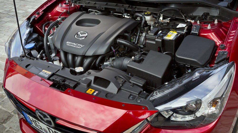 Mazda2 2015 sử dụng chung động cơ của thế hệ trước1