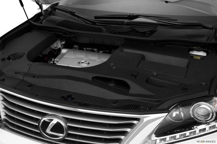 dong co d397 Đánh giá chi tiết xe Lexus RX 350 2015: Sang trọng hàng đầu