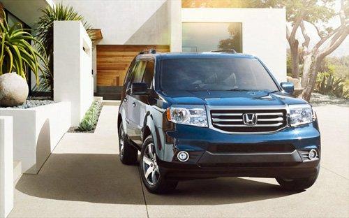 Honda Pilot 2015 fb4c Đánh giá chi tiết xe Honda Pilot SUV 2015: Mẫu SUV dành cho gia đình