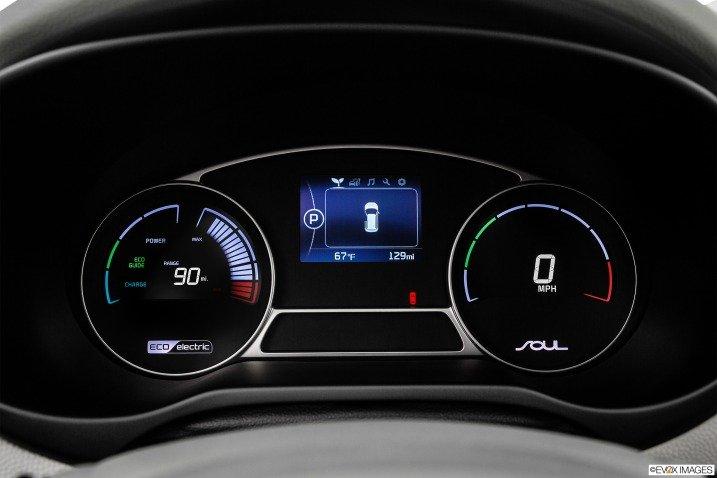 bang dong ho b0ba Đánh giá chi tiết xe Kia Soul EV 2015