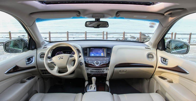 Infiniti QX60 a8 d7df Đánh giá chi tiết xe Infiniti QX60 2015: Lựa chọn hấp dẫn cho những ông bố trẻ