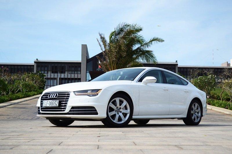 AudiA7Sportback1 6021 Đánh giá chi tiết xe Audi A7 Sportback 2015: Tiêu chuẩn mới trong thiết kế ô tô