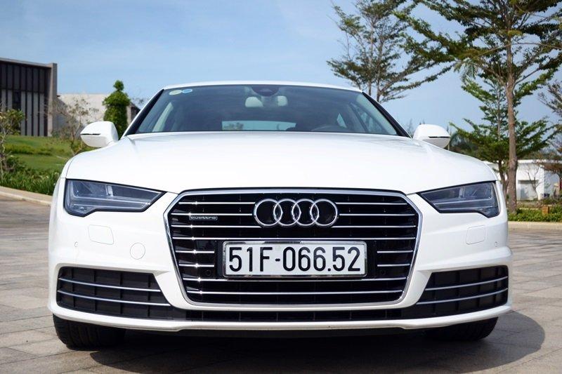 AudiA7Sportbacka15 0a73 Đánh giá chi tiết xe Audi A7 Sportback 2015: Tiêu chuẩn mới trong thiết kế ô tô