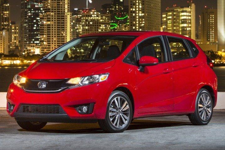 HondaFit201525 db2b Đánh giá chi tiết xe Honda Fit 2015: Mạnh mẽ, linh hoạt
