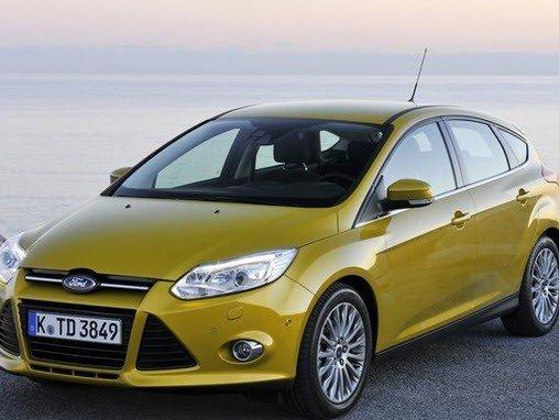 Ngoại thất của Ford Focus.