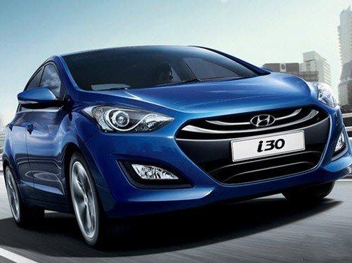 Ngoại thất của Hyundai i30.