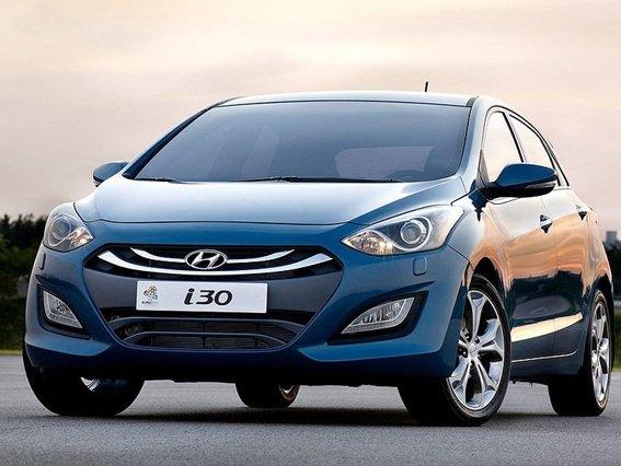 Đầu xe Hyundai i30.