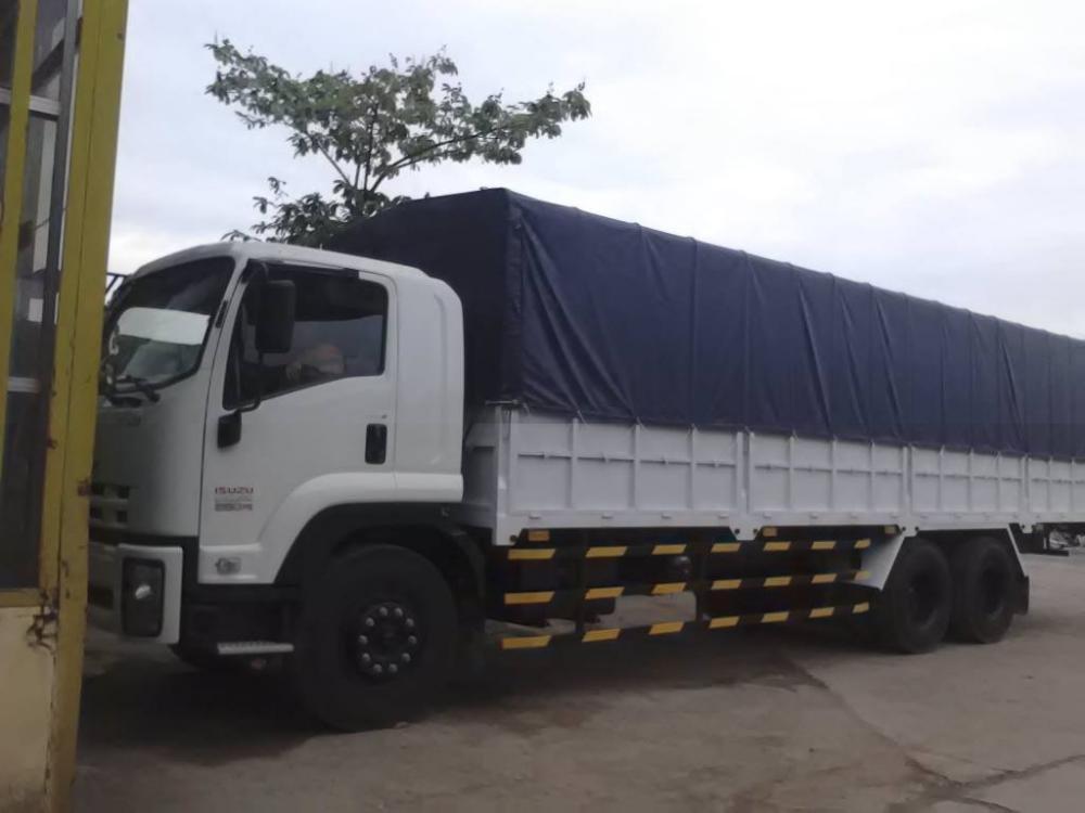 Giá bán xe tải isuzu 3 chân 15 tấn thùng dài đời 2016 - Bán xe tải isuzu 3 chân 15 tấn đời 2016