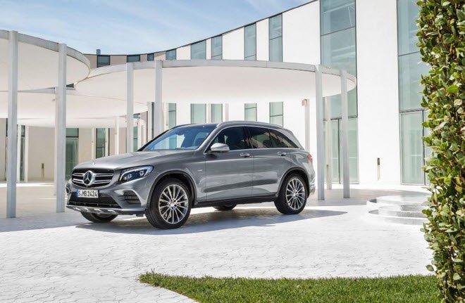 Mercedes GLC hội tụ đủ những yếu tố của một chiếc SUV.