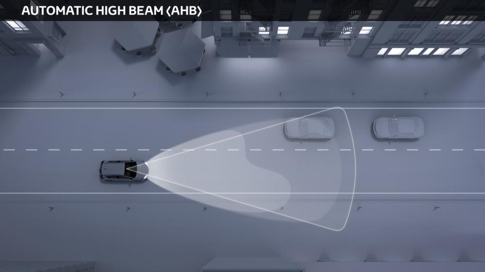 Công nghệ an toàn Toyota Safety Sense - Tính năng đèn pha chống lóa tự động