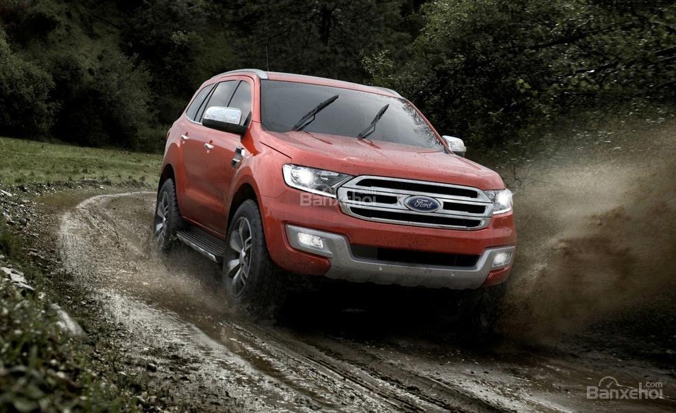 Ford Everest 2015 đang nhận được sự quan tâm của đông đảo người hâm mộ.