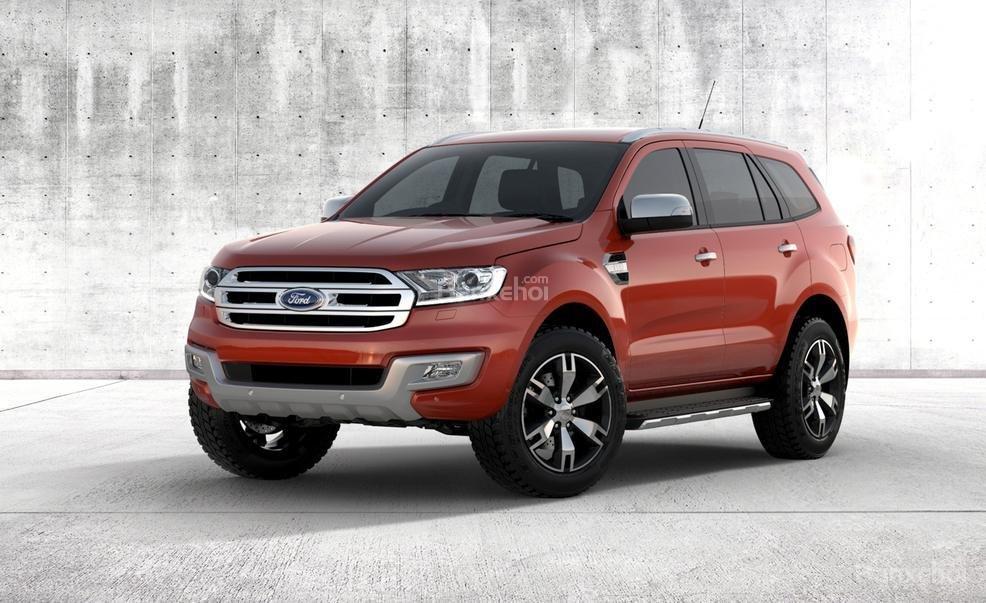Ford Everest 2015 được thiết kế đậm chất Mỹ hơn người tiền nhiệm.