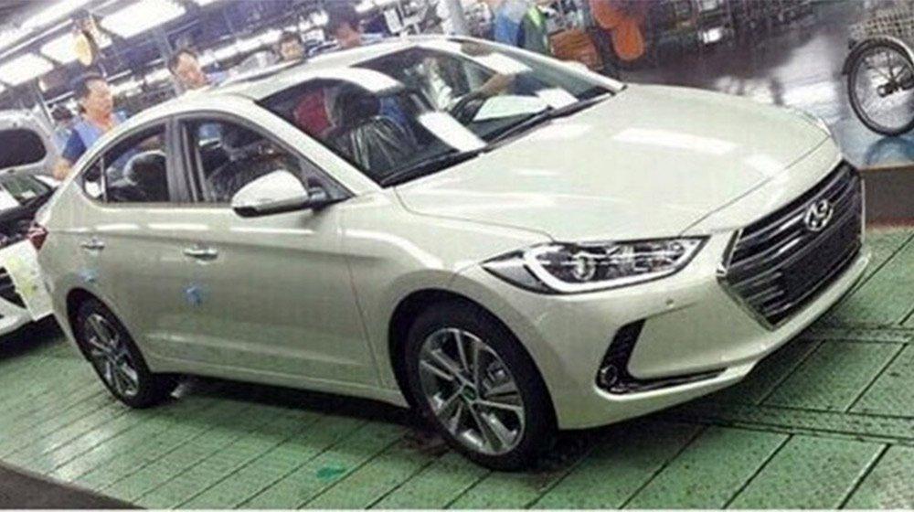 Hyundai Elantra 2016 tại nhà máy sản xuất 1