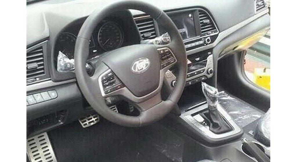 Thiết kế nội thất  Hyundai Elantra 2016 2