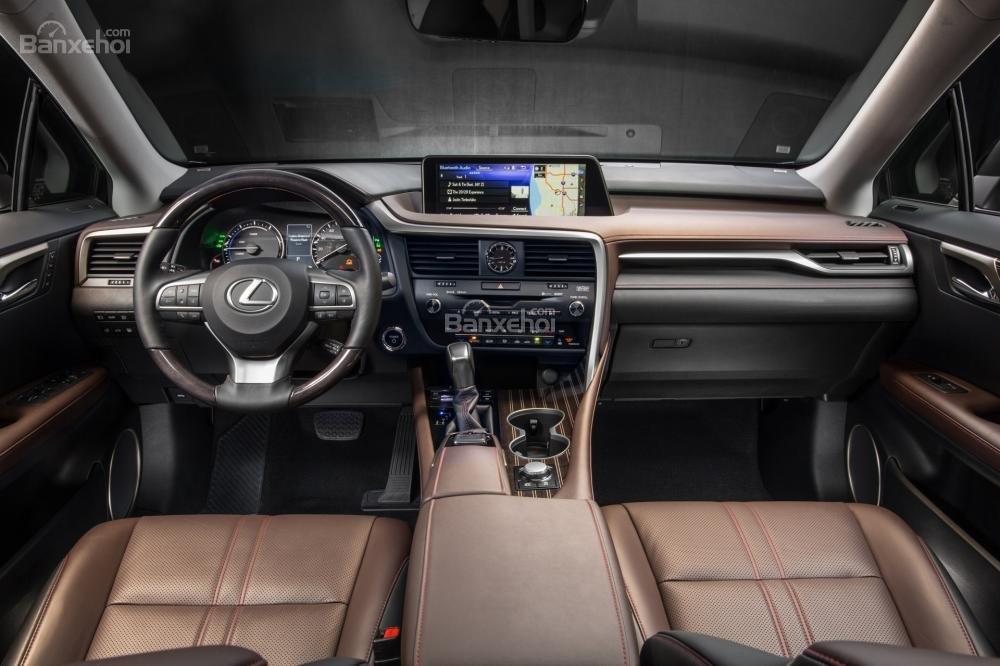 Đánh giá nội thất xe Lexus RX 2016