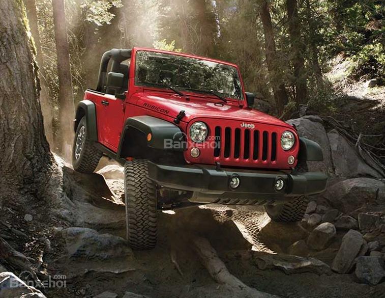 Jeep Wrangler là chiếc xe hoàn hảo với khả năng off-road tuyệt vời