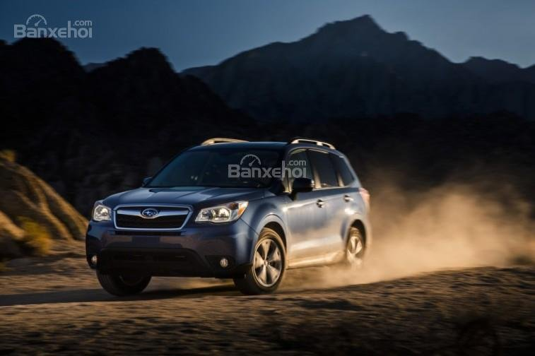 Subaru Forester là chiếc xe sở hữu hệ dẫn động 4 bánh tốt nhất trong ngành công nghiệp ô tô