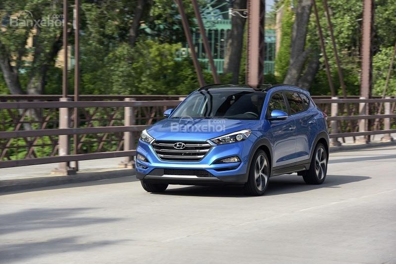 Chiếc xe crossover Hyundai Tucson có thể nhanh chóng trở thành đối thủ đáng gờm trong phân khúc