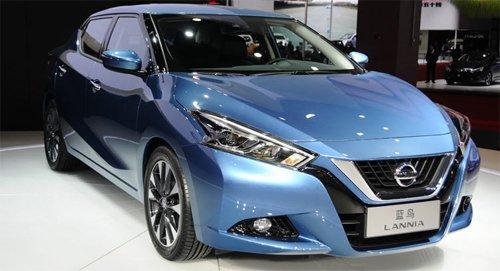 Nissan Lannia - Mẫu sedan cá tính được bán ra thị trường Trung Quốc.