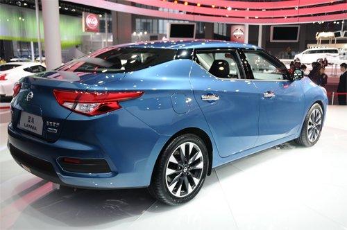 Nissan Lannia - Mẫu sedan cá tính được bán ra thị trường Trung Quốc 4