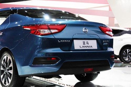 Nissan Lannia - Mẫu sedan cá tính được bán ra thị trường Trung Quốc 5