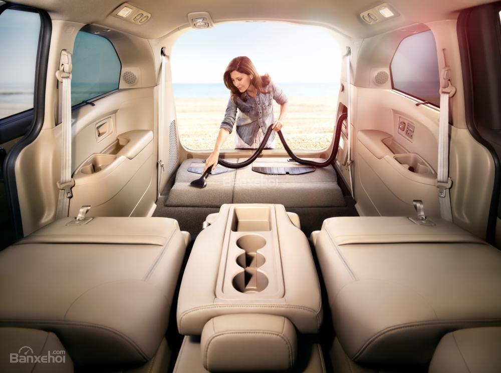 Đánh giá khoang hành lý xe Honda Odyssey 2016