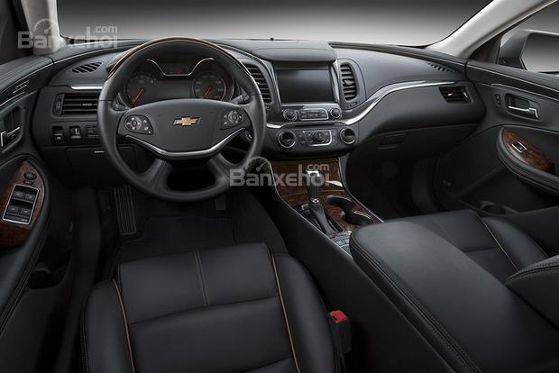 Đánh giá nội thất xe Chevrolet Impala 2016