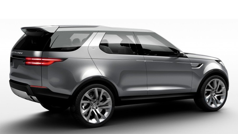 Dáng vẻ thực tế của Land Rover Discovery 2016.