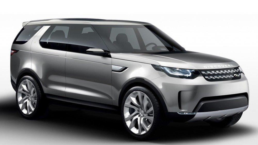 Land Rover Discovery 2016 sẽ được trình làng trong năm 2016.