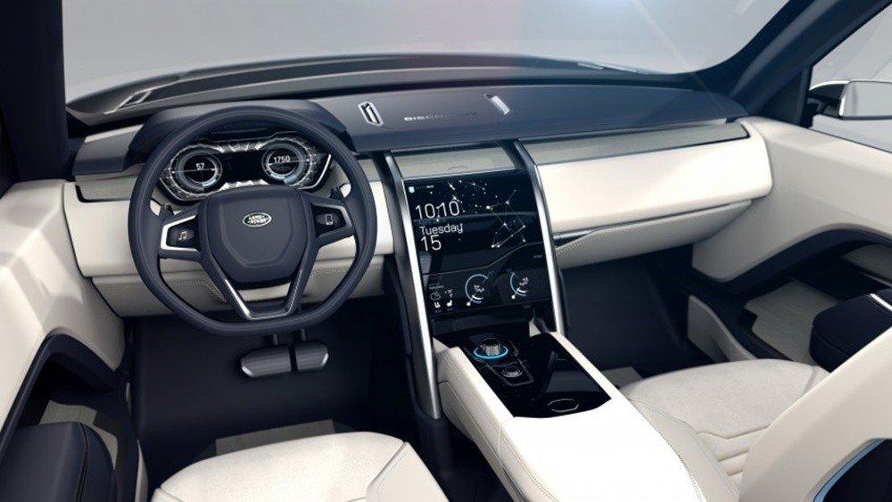 Land Rover Discovery 2016 sở hữu động cơ diesel tăng áp V6 dung tích 3.0L.