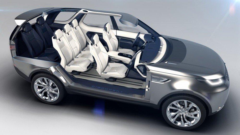 Trọng lượng của Land Rover Discovery 2016 có thiết kế cấu trúc thân xe vô cùng đặc biệt.