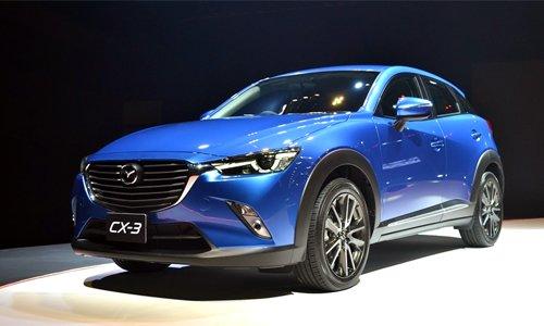 Mazda CX-3 là mẫu xe tiết kiệm nhiên liệu nhất trong phân khúc crossover cỡ nhỏ.