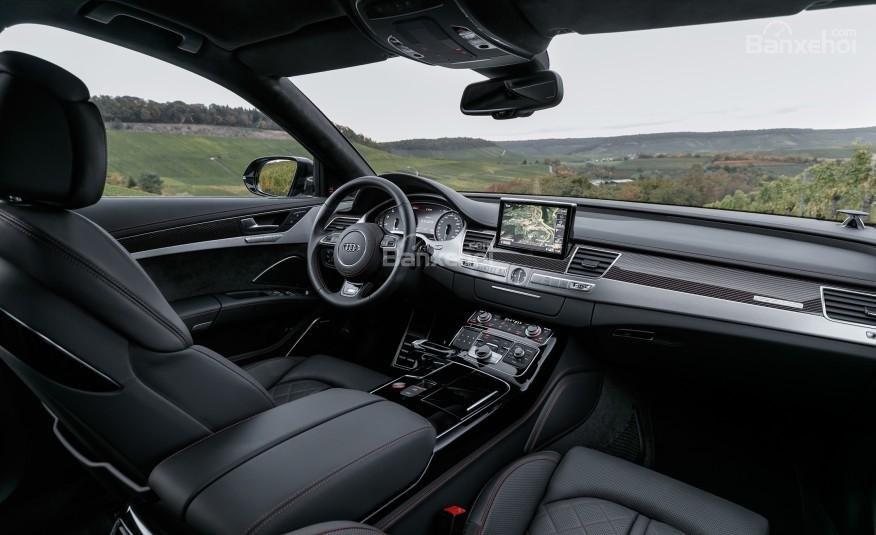 Đánh giá xe Audi S8 2016: Sự sang trọng toát lên từ nội thất của xe