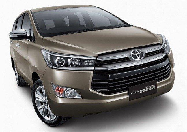 Đầu xe Toyota Innova 2016 được thiết kế trẻ trung, năng động.