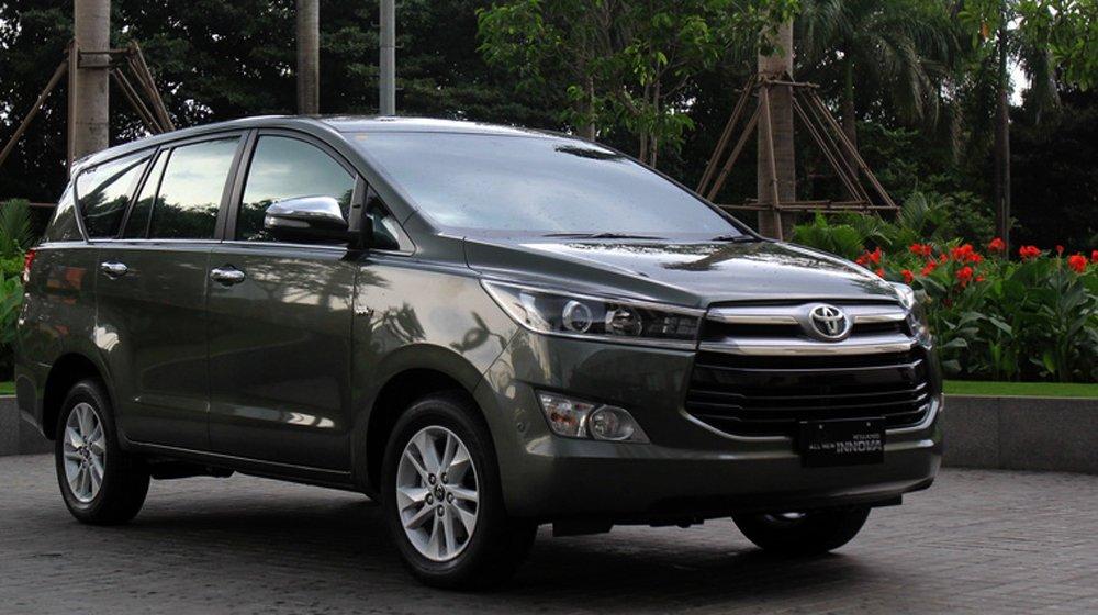 Toyota Innova 2016 sở hữu ngoại thất mang phong cách độc đáo.