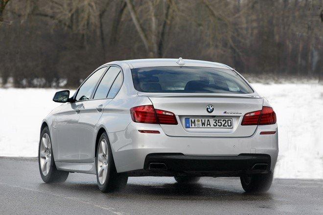 1. BMW M550d xDrive 2016: Tăng tốc từ 0-100 km/h trong 4,7 giây.