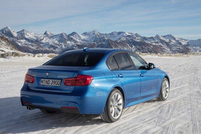 3. BMW 335d xDrive 2016: Tăng tốc từ 0-100 km/h trong 4,8 giây
