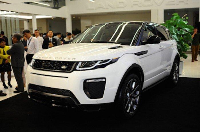 Range Rover Evoque 2016 kỳ vọng bán ra 200 chiếc tại Việt Nam.
