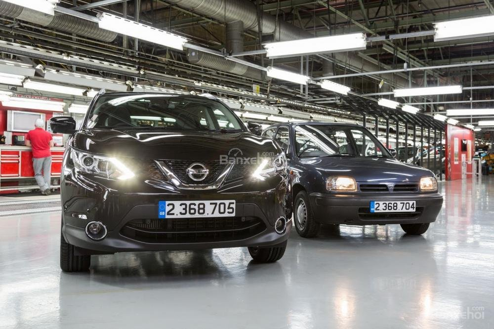 Nissan Qashqai trở thành chiếc crossover bán chạy nhất Châu Âu.