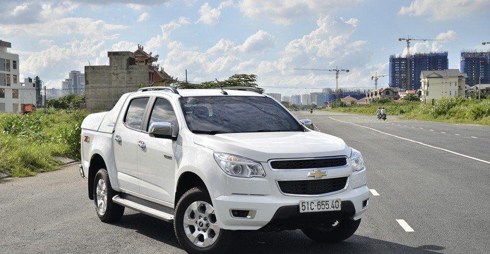 Đánh giá xe Chevrolet Colorado 2015.