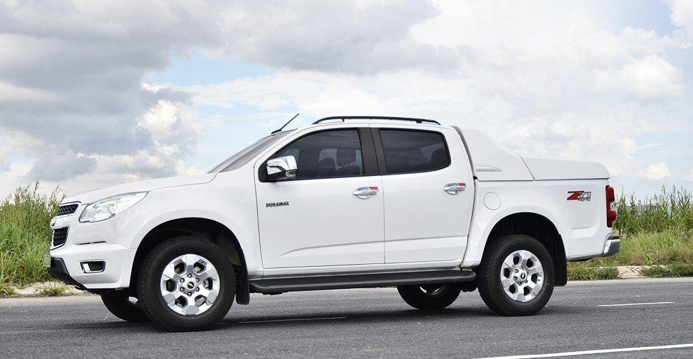 Đánh giá xe Chevrolet Colorado 2015 phần thân 1.