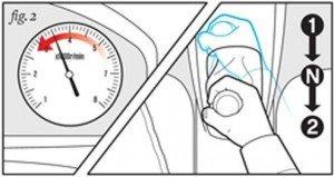 Cách xử lý khi bị kẹt chân côn 2