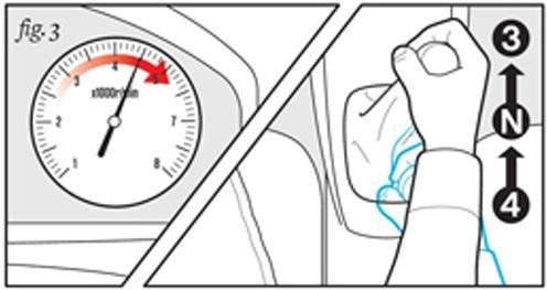 Cách xử lý khi bị kẹt chân côn 3