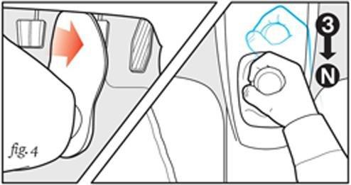 Cách xử lý khi bị kẹt chân côn 5