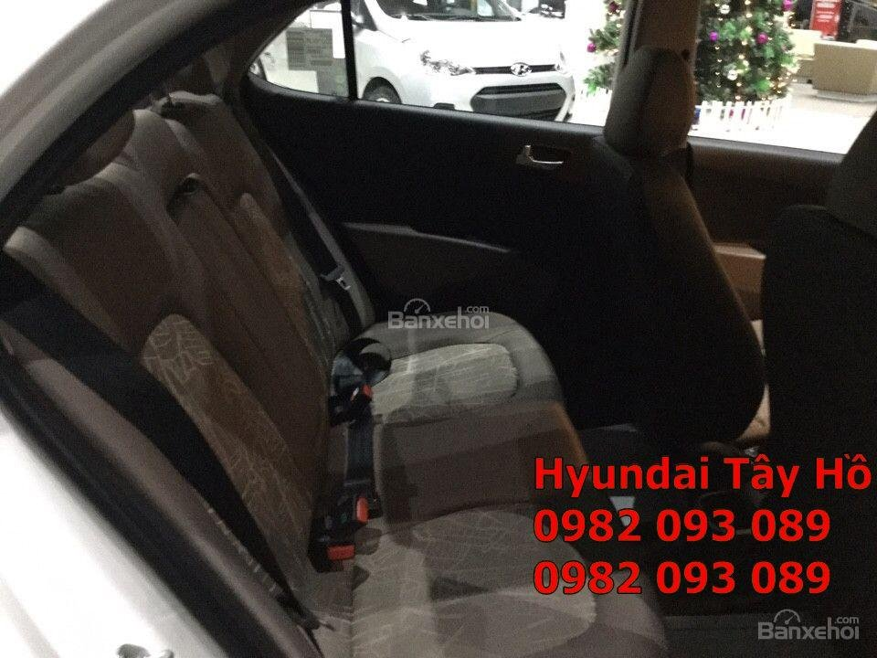 Chỉ với 120tr, sở hữu ngay xe Hyundai Grand I10 1.2 MT Sedan chạy Uber, grab-12