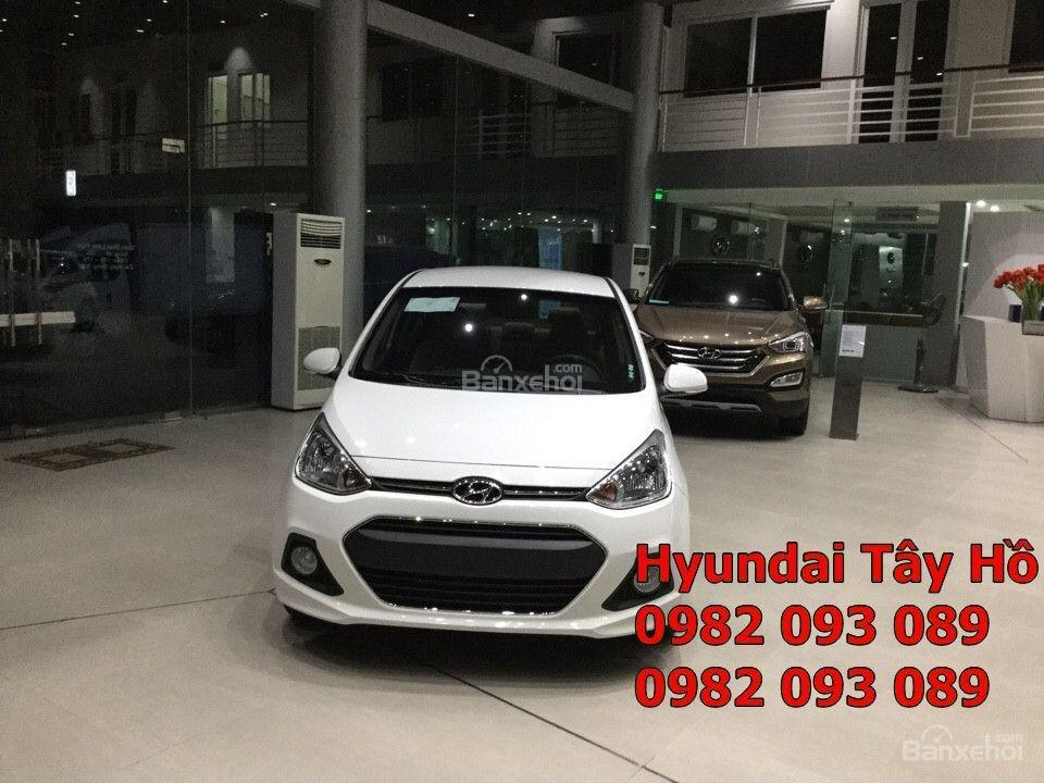 Chỉ với 120tr, sở hữu ngay xe Hyundai Grand I10 1.2 MT Sedan chạy Uber, grab-1