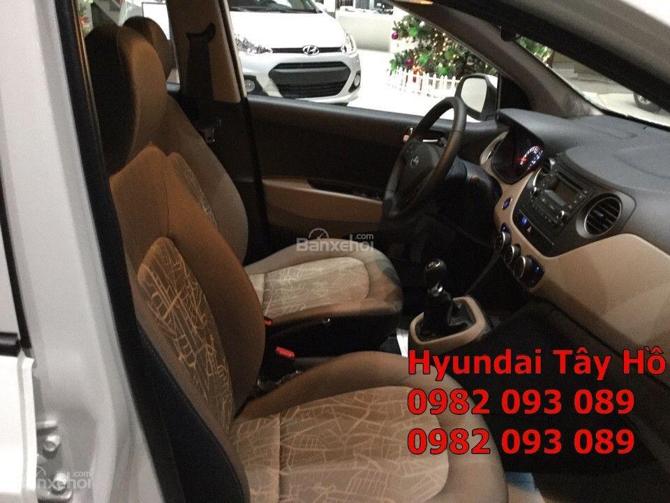 Chỉ với 120tr, sở hữu ngay xe Hyundai Grand I10 1.2 MT Sedan chạy Uber, grab-9
