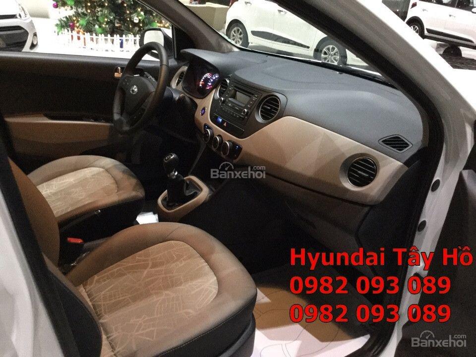 Chỉ với 120tr, sở hữu ngay xe Hyundai Grand I10 1.2 MT Sedan chạy Uber, grab-8