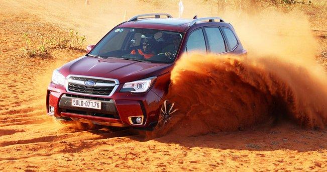 Đánh giá xe Subaru Forester 2016.